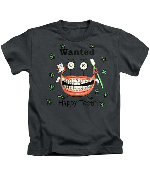 Happy Teeth T-shirt Kids T-Shirt