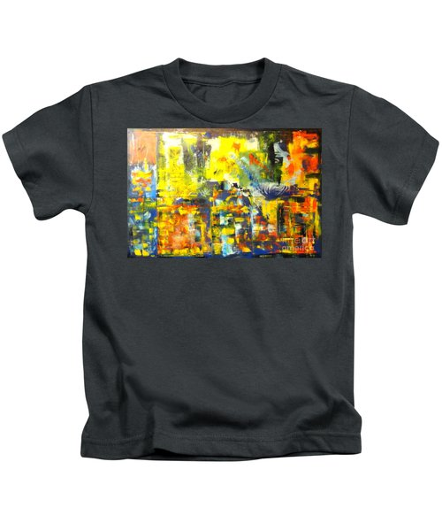Happyness And Freedom Kids T-Shirt