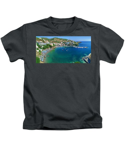 Harbor Of Bali Kids T-Shirt