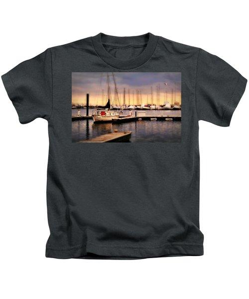 Harbor Point Stamford Kids T-Shirt