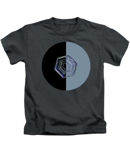 Harlequin Snowflake II Kids T-Shirt