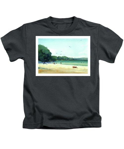 Harrington Beach, Wisconsin Kids T-Shirt