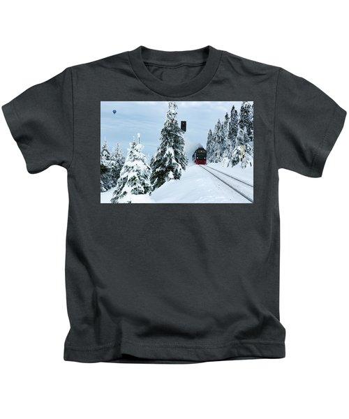 Harz Ballooning And Brocken Railway Kids T-Shirt