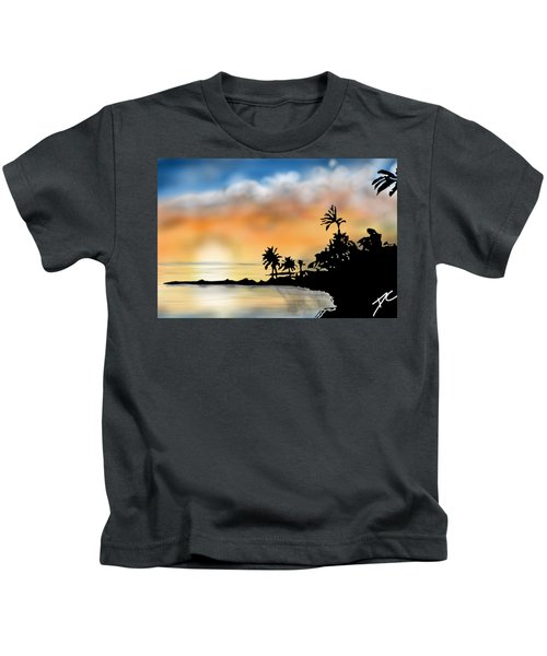 Hawaii Beach Kids T-Shirt