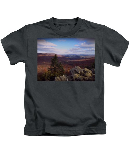 Hawk Mountain Sanctuary Kids T-Shirt