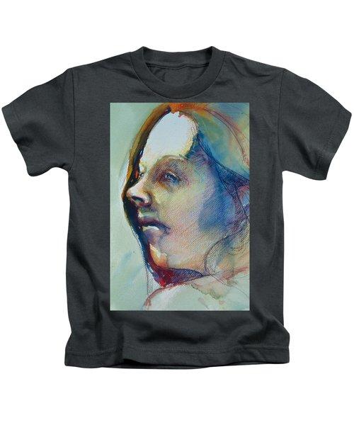 Head Study 7 Kids T-Shirt