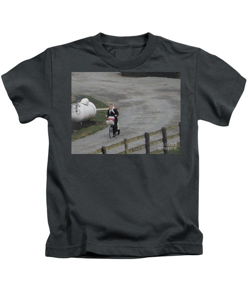 Heading Off To School Kids T-Shirt