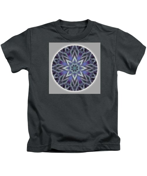 Health And Happiness Mandala Kids T-Shirt