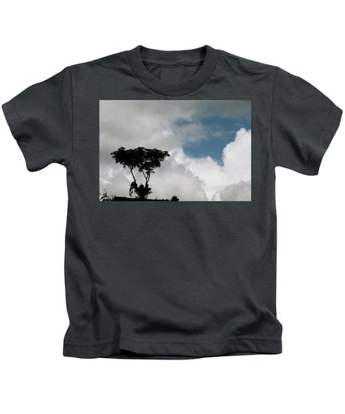 Heart In The Clouds Kids T-Shirt