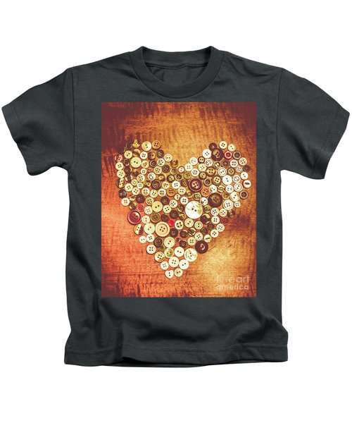 Heart Of A Tailor Kids T-Shirt