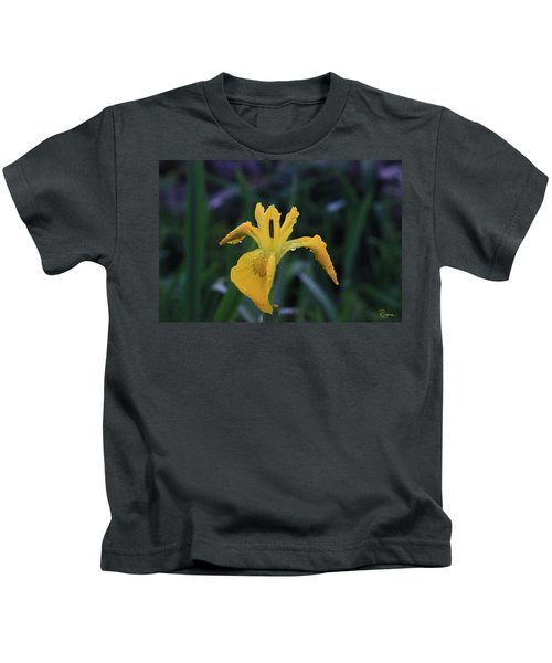 Heart Of Iris Kids T-Shirt