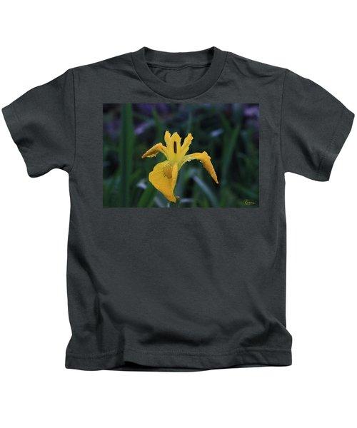 Heart Of Iris Kids T-Shirt
