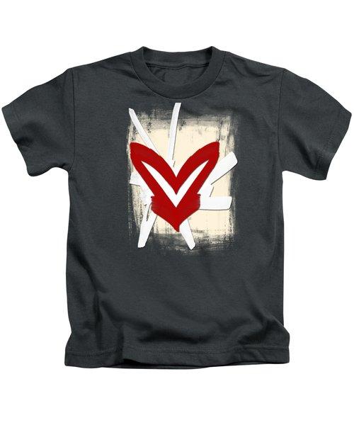 Hearts Graphic 5 Kids T-Shirt