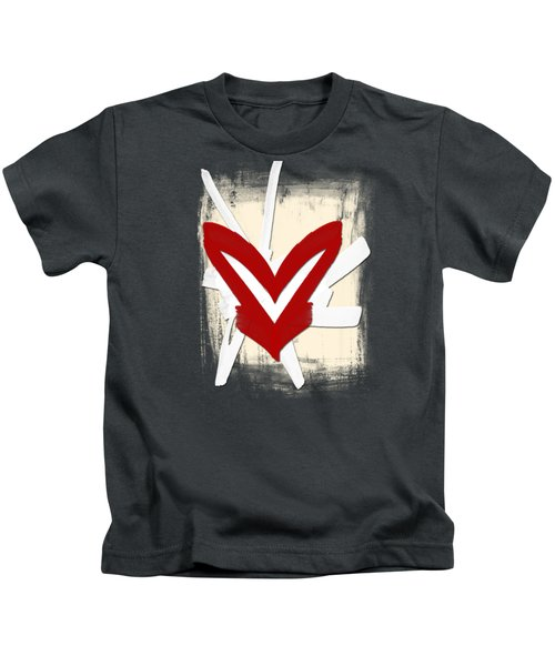Hearts Graphic 5 Kids T-Shirt