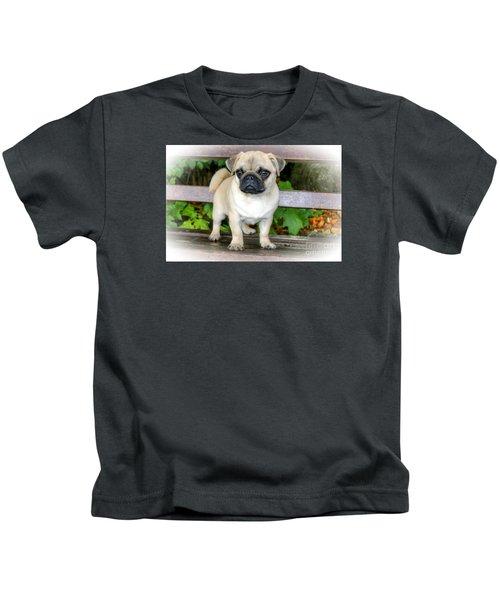 Heathcliff The Pug Kids T-Shirt