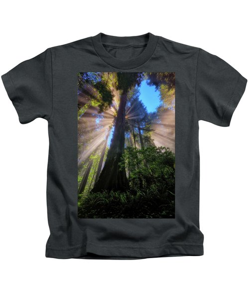 Heavenly Light Rays Kids T-Shirt