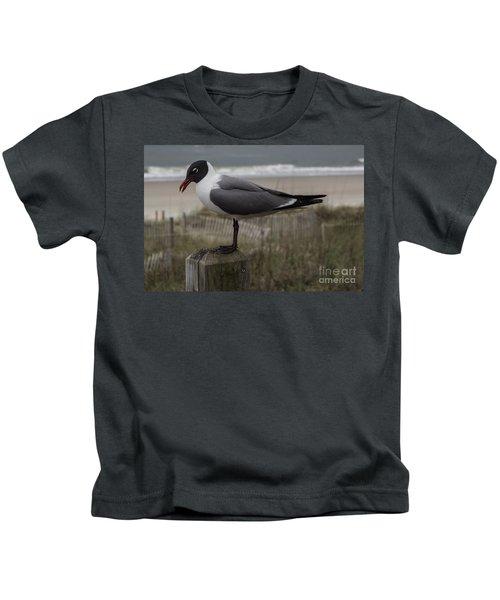 Hello Friend Seagull Kids T-Shirt