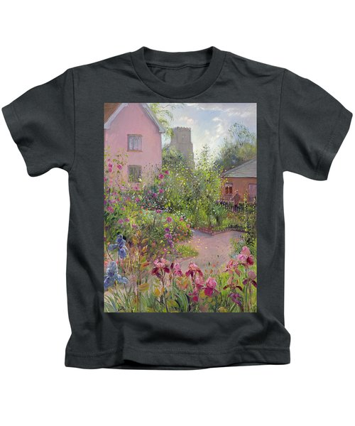 Herb Garden At Noon Kids T-Shirt