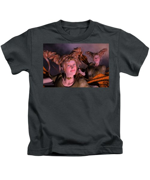 Here Comes Sunshine For Jerry  Kids T-Shirt