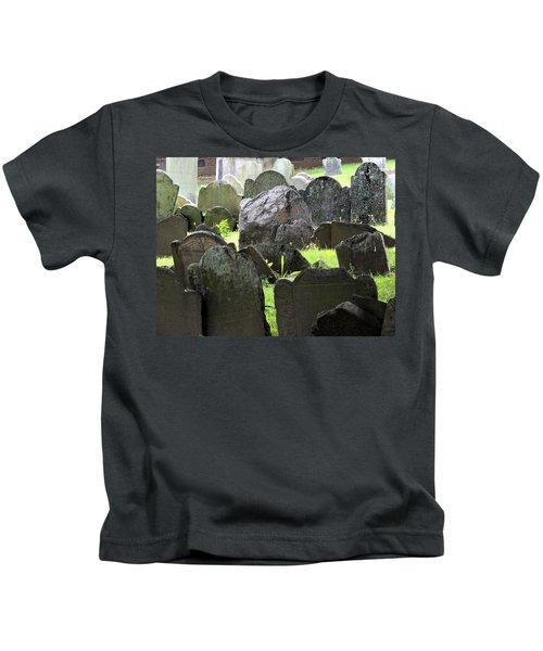 Here Lyeth Kids T-Shirt
