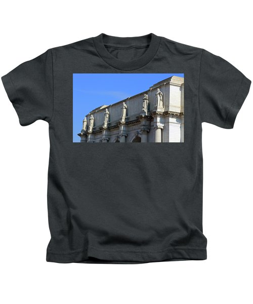 Hey Is That Joe Biden One Statue Said To Another At Union Station Kids T-Shirt