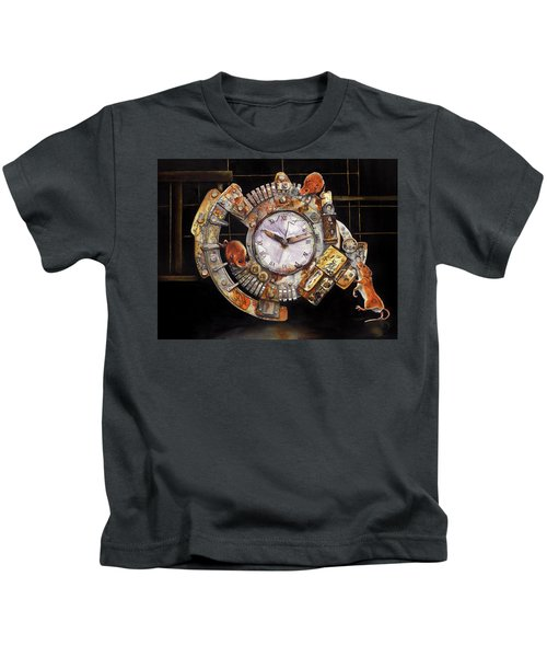 Hickory Dickory Dock Kids T-Shirt