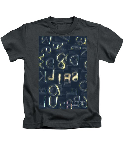 Hidden Agenda In Declassified Lies Kids T-Shirt