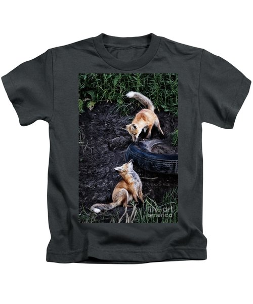 Hide-and-seek Kids T-Shirt