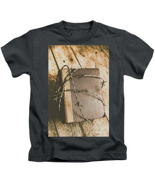 Hiding Truth Kids T-Shirt