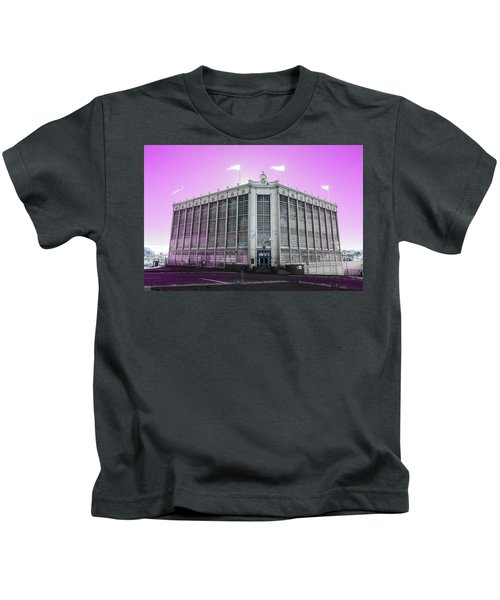 Higgins Armory In Infrared Kids T-Shirt