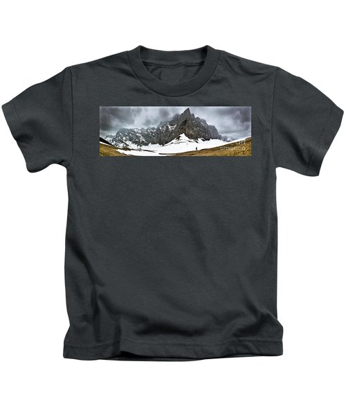 Hiking In The Alps Kids T-Shirt