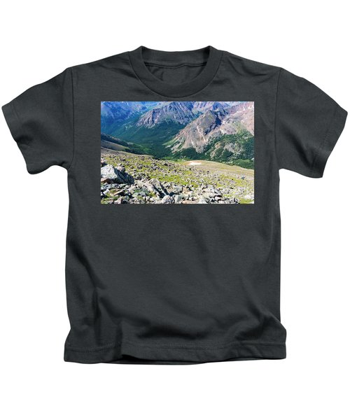 Hiking To The Mount Massive Summit Kids T-Shirt