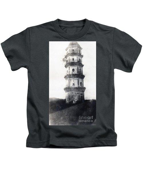 Historic Asian Tower Building Kids T-Shirt