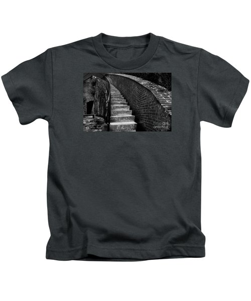 Historic Stairwelll Kids T-Shirt