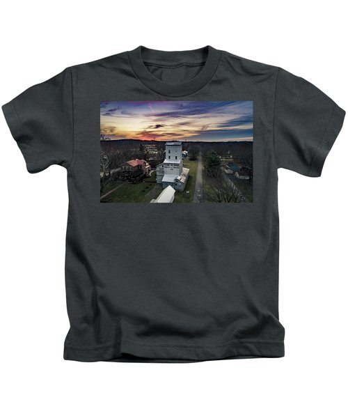 Historic Sunset Kids T-Shirt