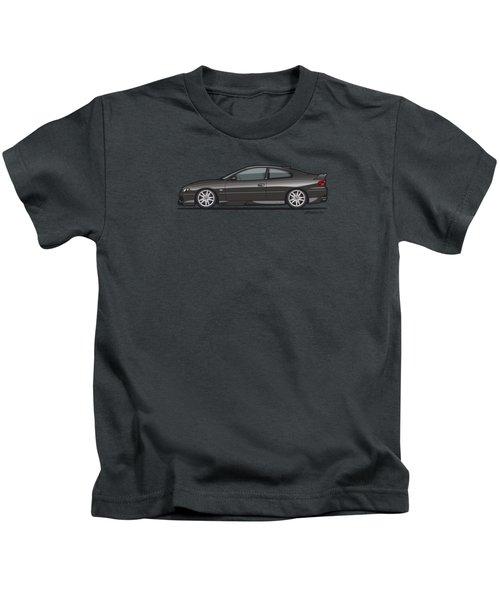 Holden Monaro V2 Hsv Gto Black Kids T-Shirt