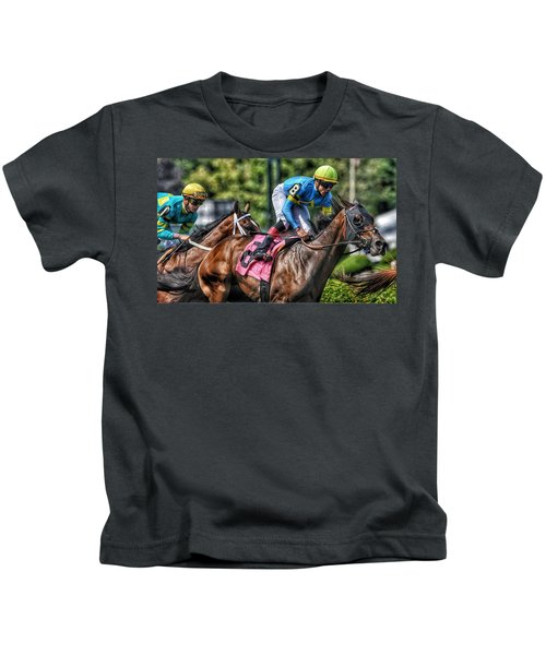Holiday Bonus With Irad Oriz, Jr. Kids T-Shirt