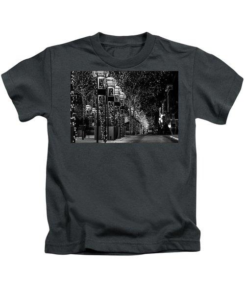 Holiday Lights - 16th Street Mall Kids T-Shirt