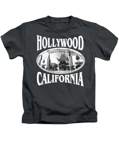 Hollywood California Design Kids T-Shirt