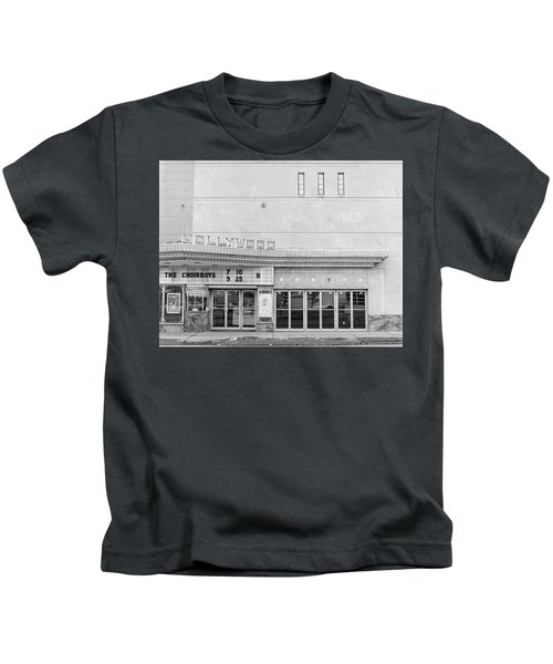 Hollywood Theater Marquee Kids T-Shirt