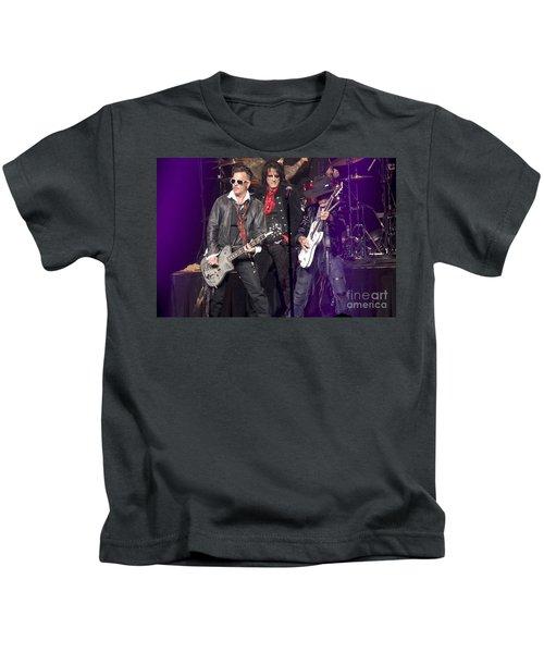 Hollywood Vampires Depp Cooper Perry Kids T-Shirt