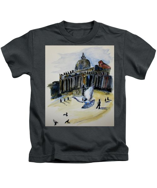 Holy Pigeons Kids T-Shirt