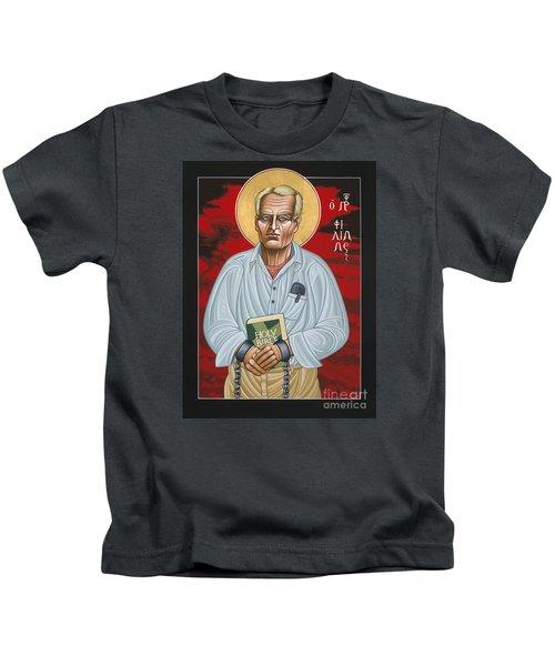 Holy Prophet Philip Berrigan 125 Kids T-Shirt