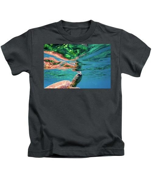 Hono Abstract Kids T-Shirt