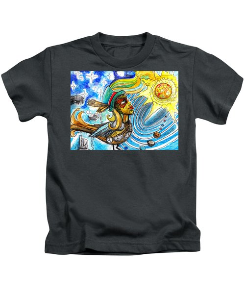 Hooked By The Worm Kids T-Shirt