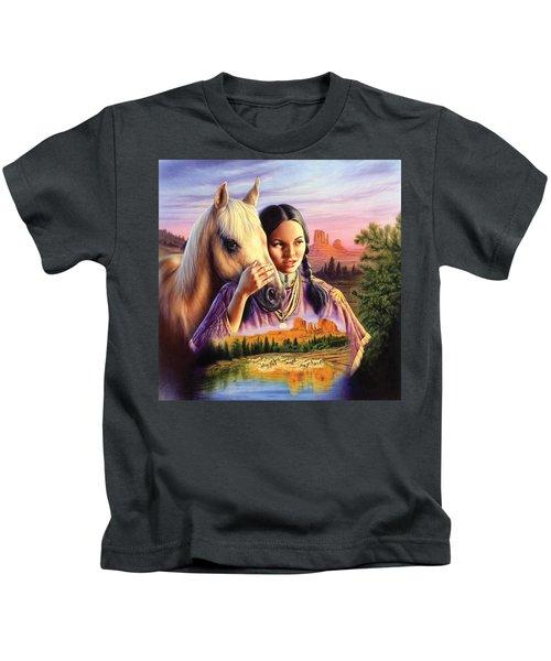 Horse Maiden Kids T-Shirt