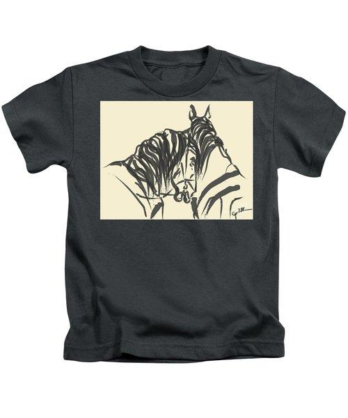 Horse - Together 9 Kids T-Shirt