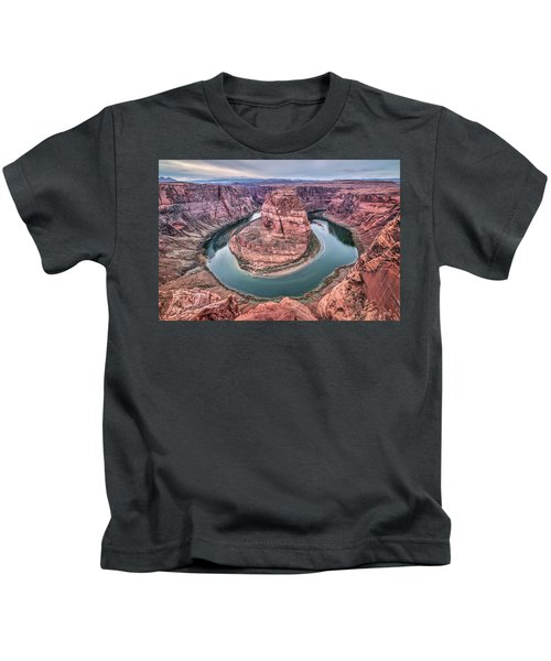 Horseshoe Bend Arizona Kids T-Shirt