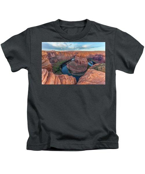 Horseshoe Bend Morning Splendor Kids T-Shirt