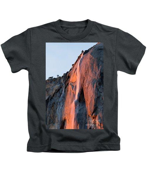 Horsetail Falls 2 Kids T-Shirt
